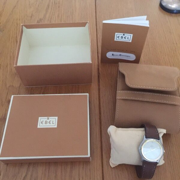 Ebel mens watchin Bude, CornwallGumtree - Ebel mens watch, perfect contain with a snake skin strap., recent service and new battery