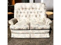 Button back Parker Knoll 2 seater sofa- immaculate.