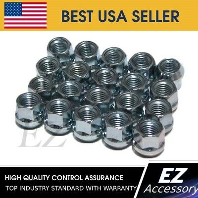 "Lug Nuts Bulge Acorn Open End Nut 3/8""x24 Set of 16"