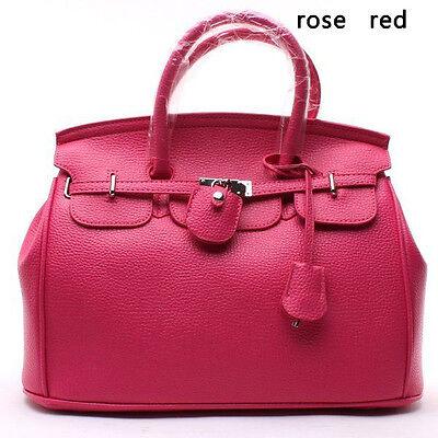 Celebrity Lady  Tote Handbag Lock Shoulder Designer Satchel bag JB