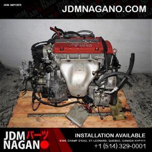 JDM HONDA PRELUDE H22A TYPE S ENGINE T2W4 LSD TRANSMISSION H22A