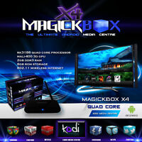 The MagickBox X4 Quad Core Android TV Media Box ! XBMC/KODI 15.2