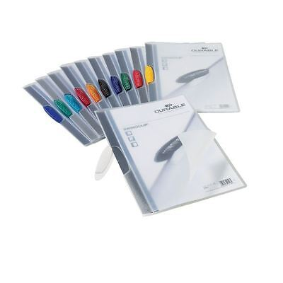 Durable Swingclip Folders 3mm Assorted (Pack of 25) 2260/00 [DB20532]