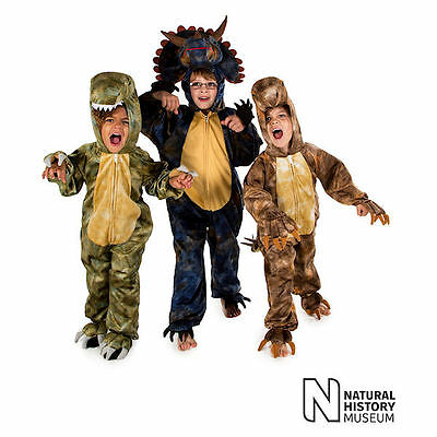 DLX Dinosaur Fancy Dress T-Rex Stegosaurus Triceratops Boys All In One - Stegosaurus Kostüm