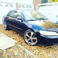 Fully modified honda accord for quick sale
