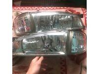 Original Crystal Subaru headlights