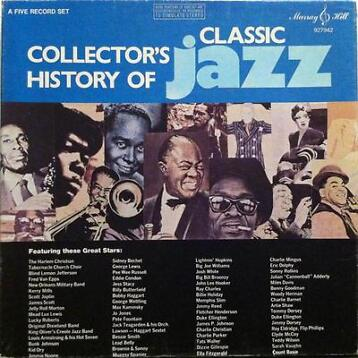 lp box - Various - Collector's History Of Classic Jazz