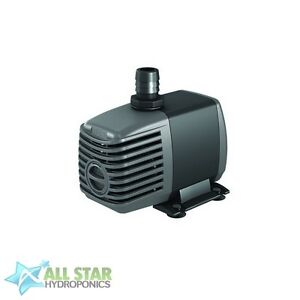 Active Aqua 400 GPH Submersible Water Pump - Hydroponic Aquarium Pond Fountain