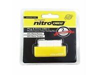 Nitro obd chip tuning box plug and play PETROL Remap