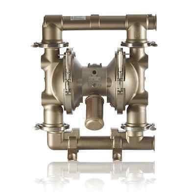 Saniforce Sanitary Double Diaphragm 90 Gpm Pnumatic Exp Proof Alcohol Mash Pump