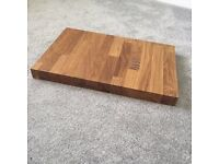 Real solid oak chopping board brand new
