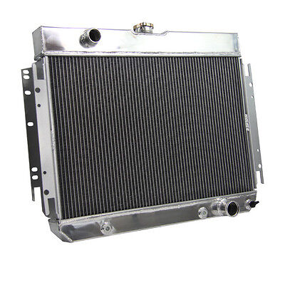 3 Row Aluminum Radiator For 63-68 Chevy Bel Air / Biscayne/ Impala US Local Ship