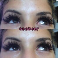 EXTENSION DE CILS VOLUME RUSSE et SOURCILS 819-968-9427