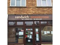 Sandwich / cafe for sale in Eastleigh
