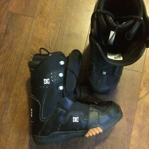 DC phase snowboard boots.