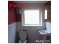 Full bathroom refurbs and all tiling work