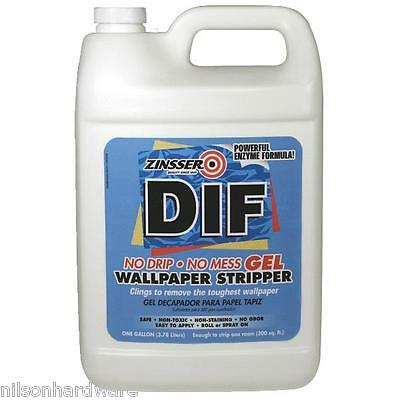 4 Gal Zinsser DIF Ready-To-Use Gel Wallpaper Stripper Remover 2431