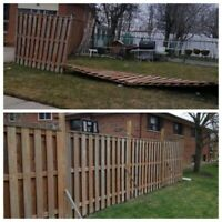 FENCE & POST REPAIR