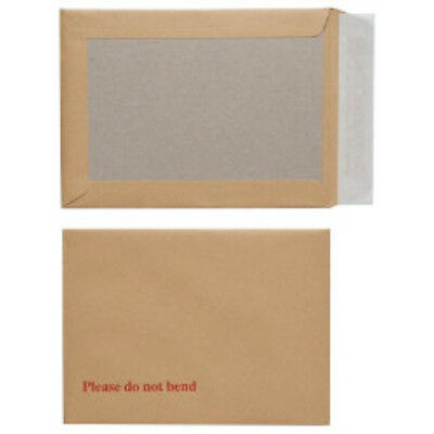 10x A5 Envelopes Board Back Backed Size 162x229mm Strong Stiff Postal Mailers
