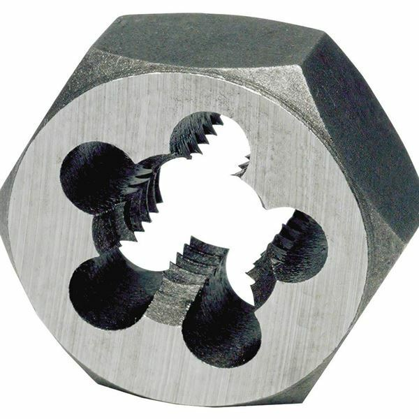 "TTC 2""-8 RH Carbon Steel Hex ReThreading Die"