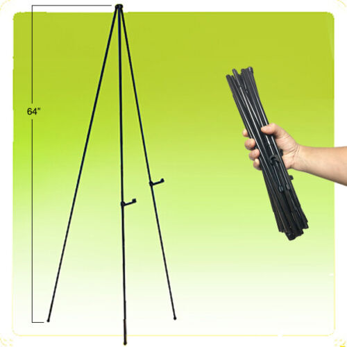"""64"""" Instant Easel Self Setting Display Portable Quick Folding"""