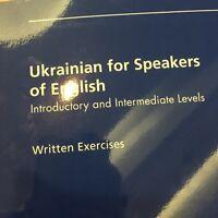 Ukranian Elementary and higher levels Tutor