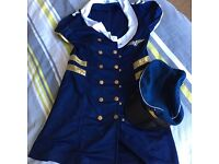 Fancy dress season sexy pilot dress!
