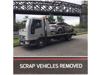 We buy scrap cars and vans , MOT failures , spares and repairs , any unwanted vehicle