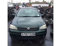VAUXHALL ASTRA Cd 16v 1998 Green 1.6 Petrol 5 Dr * Breaking / Spares *