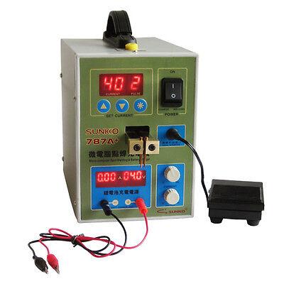 Sunkko 787a 18650 Battery Micro-computer Pulse Spot Welding Welder 220v