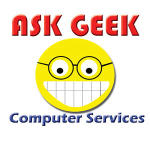 ASK GEEK Computer Services Now Accepting Credit Cards $ Debit