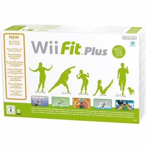 Nintendo Wii Fit Plus With Official Balance Board (NEW)