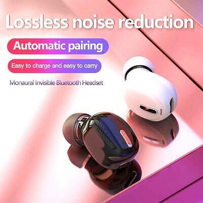 Best Wireless Earbuds Mini 5.0 Hi-Fi Bluetooth Black Noise Cancelling Earbuds