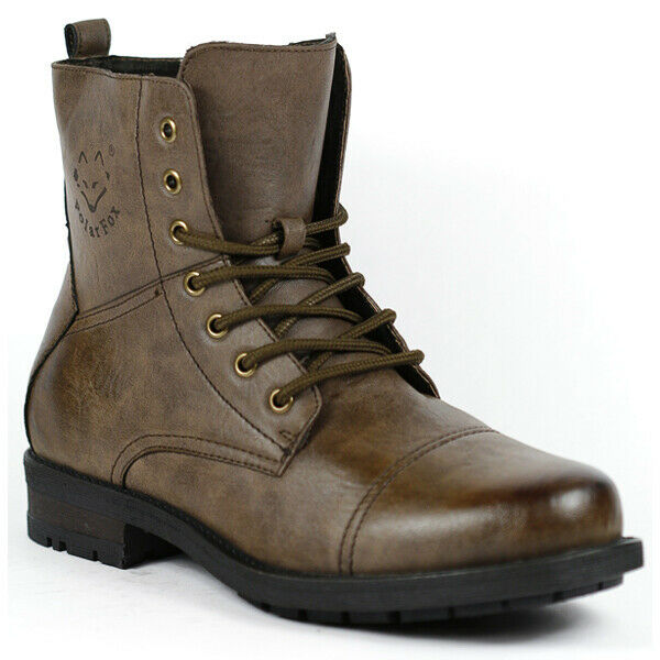 Polar Fox MPX-508009 Men's Lace Up Combat Style Fashion Boot