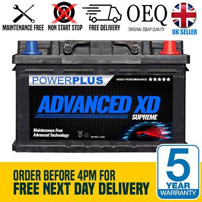 096 XD+ PowerPlus Car Battery 12V 77AH 780A - Premium Grade Car Battery