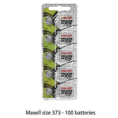 Maxell Hologram SR916SW 373 Silver Oxide Watch Batteries