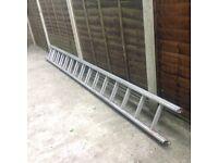 A 4 meter ladder