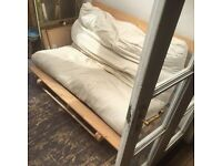 Futon sofa bed - AVAILABLE ONLY TODAY - SUN 14th MAY