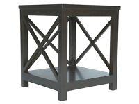 OKA Designer Art Deco 'Saltire' End Table