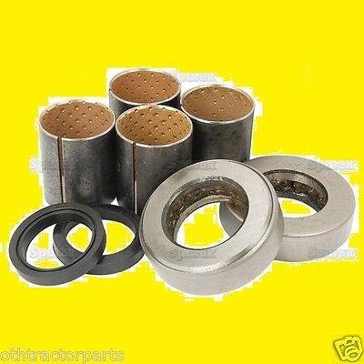 Ford Fordson Front Axle Spindle Bushing Bearing Kit Major Power Super Major