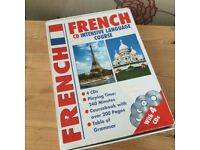 French Language Course, Excellent Condition 4 Disc Tutorial . £5.00