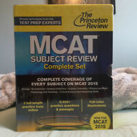 Brand new MCAT 2015 Princeton review books