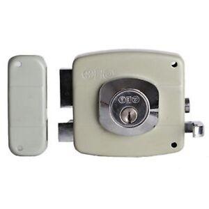 Security Rim lock GEO By Black & Decker - Grey (Left Hand)