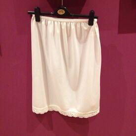 White Matalan Underskirt