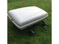 Car Roof Box and Roof Bars