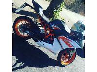 KTM 125 motorbike for sale!