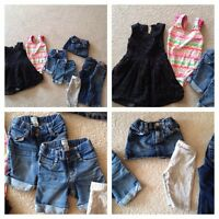 18-2T girl clothes, $15 for all, Kelowna