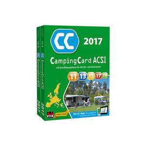 CampingCard ACSI Campingführer 2017 - Rabattkarte für die Vor- und Nachsaison