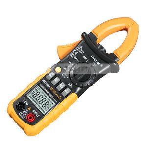 MS2108A Digital Clamp Meter Multimeter AC DC Current Volt Tester