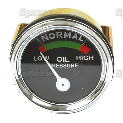 Massey-harris Tractor Oil Pressure Gauge Mh 22 33 44 55 333 444 555